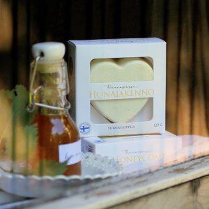 hunajakenno suolasaippua