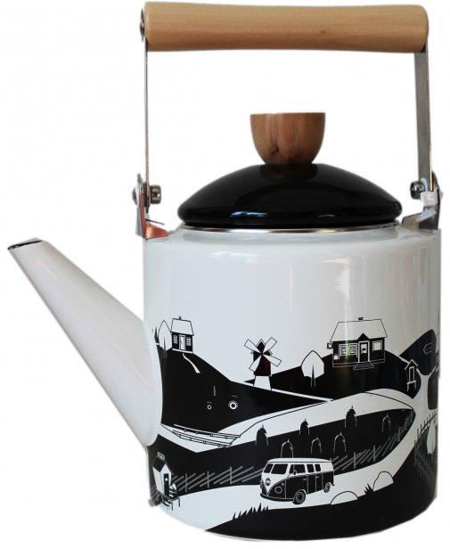 kylätie kahvipannu