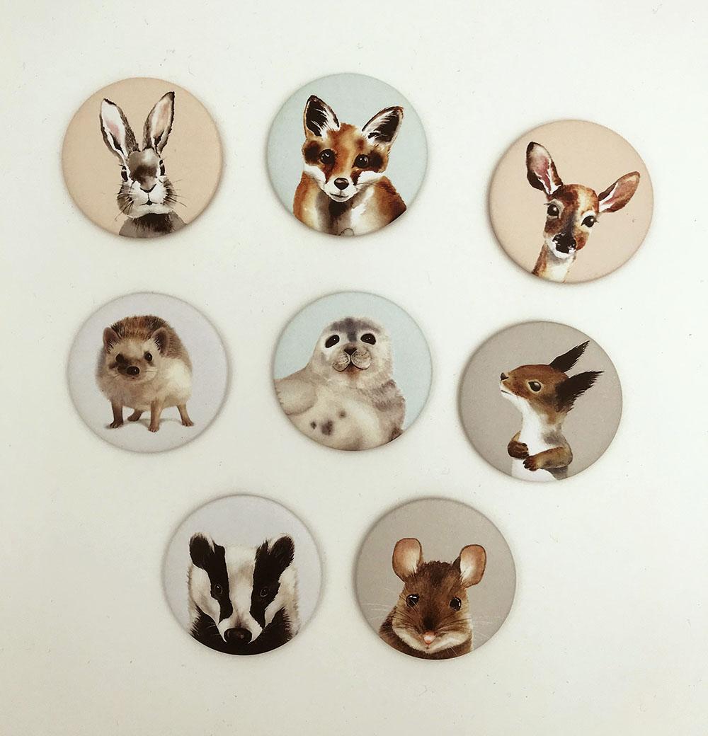 magneetit henna adel eläimet