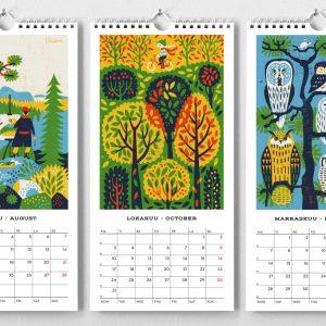 kalenteri kehvola retkiä